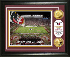 FSU Seminoles Doak Campbell Stadium Gold Coin Picture