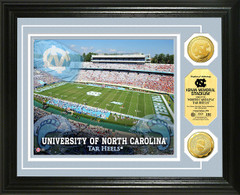 UNC Kenan Memorial Stadium Gold Coin Picture