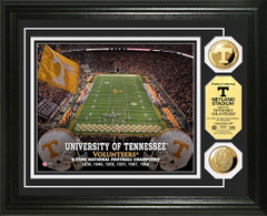 Tennessee Neyland Stadium Gold Coin Picture