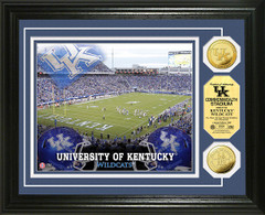 UK Wildcats Commonwealth Stadium Gold Coin Picture