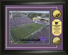 Wildcats Bill Snyder Family Stadium Gold Coin Picture