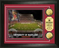 Maryland Terrapins Byrd Stadium Gold Coin Picture