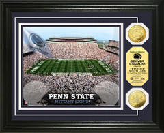 Penn State Beaver Stadium Gold Coin Picture