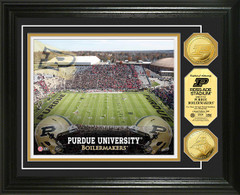 Purdue Ross Ade Stadium Gold Coin Picture