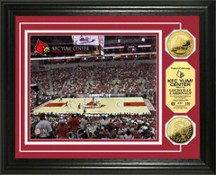 Louisville Cardinals KFC YUM! Center Gold Coin Picture