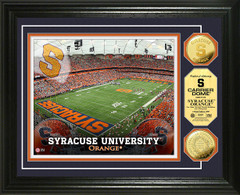 Syracuse Carrier Dome Stadium Gold Coin Picture