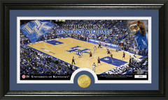 Rupp Arena KY Wildcats Bronze Coin Photo Mint