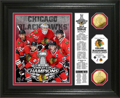 Chicago Blackhawks 2013 Stanley Cup Coin Picture