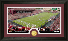 Kyle Field Texas Aggies Bronze Coin Photo Mint