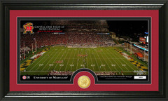 Maryland Capital One Field Photo with Bronze Coin Photo Mint