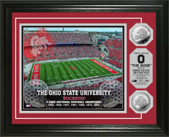 Ohio State Buckeyes Ohio Stadium Gold Coin Picture