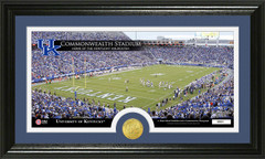 Commonwealth Stadium UK Photo with Bronze Coin Photo Mint
