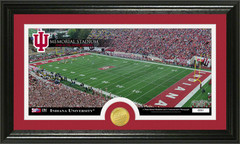 Indiana Memorial Stadium Photo with Bronze Coin Photo Mint