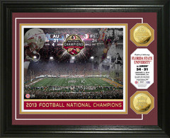 Florida State 2013 BCS National Champions Gold Coin Photo Mints