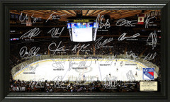 New York Rangers Signature Framed Picture