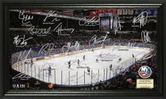 New York Islanders Signature Framed Picture