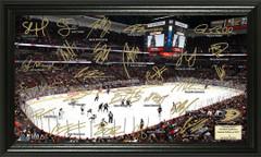 Anaheim Ducks Signature Framed Picture