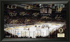 Boston Briuns Signature Framed Picture