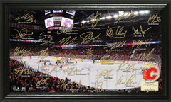 Calgary Flames Signature Framed Picture