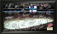 Carolina Hurricanes Signature Framed Picture