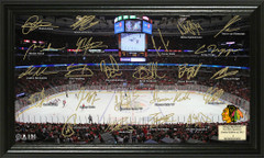 Chicago Blackhawks Signature Framed Picture