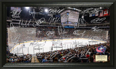 Columbus Blue Jackets Signature Framed Picture
