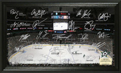 Dallas Stars Signature Framed Picture