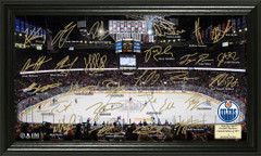 Edmonton Oilers Signature Framed Picture