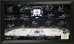 Los Angeles Kings Signature Framed Picture
