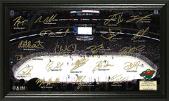 Minnesota Wild Signature Framed Picture