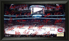 Montreal Canadiens Signature Framed Picture