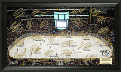 Nashville Predators Signature Framed Picture