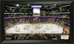 Ottawa Senators Signature Framed Picture
