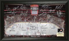 Philadelphia Flyers Signature Framed Picture