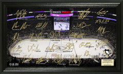 Pittsburgh Penguins Signature Framed Picture