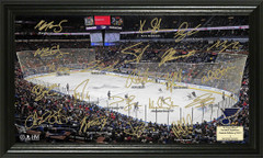 St. Louis Blues Hockey Signature Framed Picture