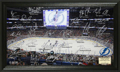 Tampa Bay Lightning Signature Framed Picture
