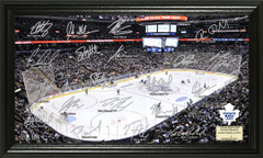 Toronto Maple Leafs Signature Framed Picture