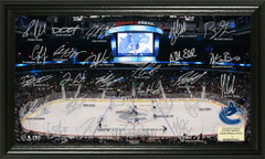 Vancouver Canucks Signature Framed Picture