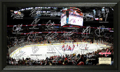 Washington Capitals Signature Framed Picture