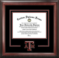 Texas A&M University Spirit Diploma Framing