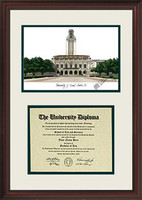 University of Texas Scholar Diploma Frame