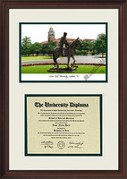 Texas Tech University Scholar Diploma Frame