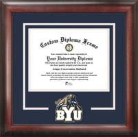 Brigham Young University Spirit Diploma Frame