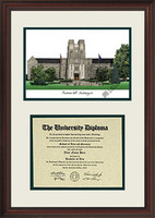 Virginia Tech University Scholar Diploma Frame