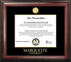 Marquette University Gold Embossed Diploma Frame