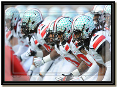 Ohio State Buckeyes Quick Cals Football Photo