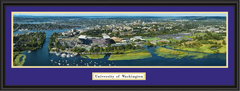 Washington Husky Stadium Panoramic Framed Poster