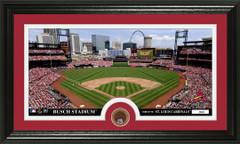 St. Louis Cardinals Busch Stadium Infield Dirt Coin Photo Mint