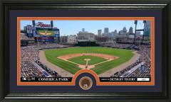 Detroit Tigers Comerica Park Infield Dirt Coin Photo Mint